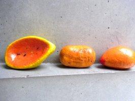 パペルマチェ 張子 オブジェ [フルーツ&ポテト]  玩具