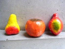 パペルマチェ 張子 オブジェ [フルーツその2]  玩具