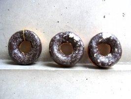 パペルマチェ 張子 オブジェ [チョコドーナツ]  玩具