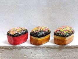パペルマチェ 張子 オブジェ [チョコカップケーキ]  玩具