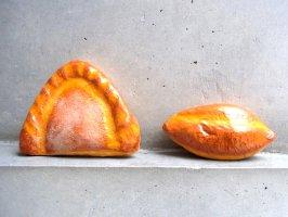 パペルマチェ 張子 オブジェ [パン]  玩具