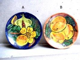 プエブラ 陶器 タラベラ  [絵皿 16cm ]