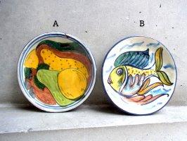 プエブラ 陶器 タラベラ  [絵皿 16cm その2]