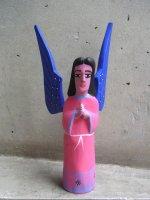 オアハカ ウッドカービング 木彫り人形  [ウニオン 天使]