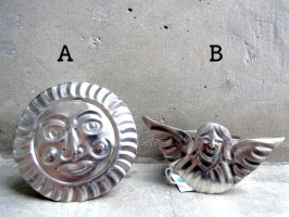 ブリキ オハラタ ナプキンホルダー  [太陽&天使]