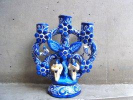 ツリーオブライフ 生命の樹 陶芸  [ブルー 16cm] イスカール