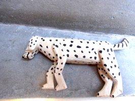 オアハカ ウッドカービング 木彫り サンチアゴ  [プラシード 眠る犬]