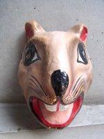 パペルマチェ 張子 仮面 [ビーバー] メキシコシティ