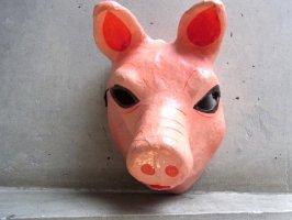パペルマチェ 張子 仮面 [ブタ] メキシコシティ