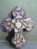 ミラグロ クロス 十字架  [ロマーナ パープル] Mサイズ