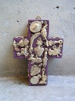 ミラグロ クロス 十字架  [タブロー パープル] Sサイズ