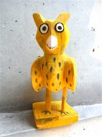 ウッドカービング 木彫り オアハカ  [フクロウ]  ビンテージ
