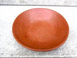 オアハカ バロ・ロホ 浅皿 土器 [カスエラ 20cm]