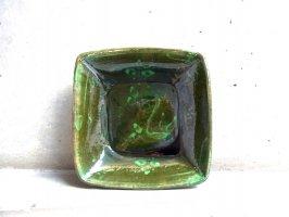 パタンバン 緑釉 陶器  [スクエア シカ]