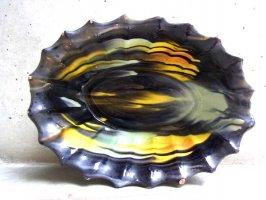 オアハカ 陶器 ドリップウェア [オーバルボウル シャドウ] ビンテージ