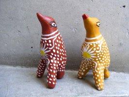オクミチョ 土人形  [土笛 鳥その1]