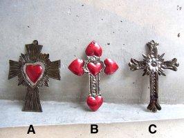 クロス 十字架 オハラタ [ブリキ コラソン]
