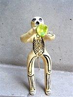 フランシスコ・フローレス 陶人形  [カラベラ トランペット] ビンテージ