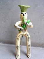 フランシスコ・フローレス 陶人形  [カラベラ スーザフォン] ビンテージ