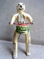 フランシスコ・フローレス 陶人形  [カラベラ スネアドラム] ビンテージ