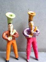 フランシスコ・フローレス  陶人形 [ブラスバンド スーザフォン] ビンテージ