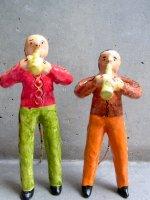 フランシスコ・フローレス  陶人形 [ブラスバンド クラリネット] ビンテージ
