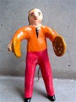 フランシスコ・フローレス  陶人形 [ブラスバンド シンバル] ビンテージ