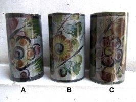 トナラ 陶器  花器 [タンブラー グレー]