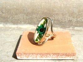 リング 指輪  [ドライフラワー グリーン] アルパカ