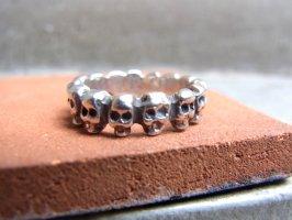 リング 指輪  [ラス・カラベラス ] シルバー スカル がいこつ