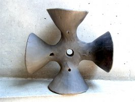 オアハカ 黒陶 バロネグロ  [4カンパナス 四つベル 17cm] ビンテージ
