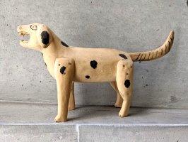 オアハカ ウッドカービング 木彫り サンチアゴ [吠える犬] ビンテージ