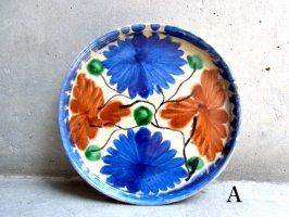オアハカ 陶器 ドリップウェア [ディッシュプレート] ビンテージ