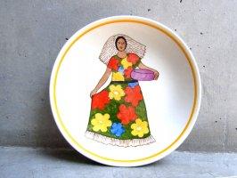 オアハカ 陶器 飾り皿 [インディヘナ]