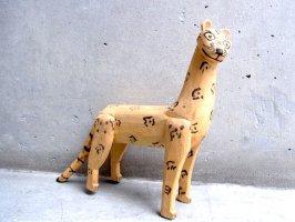 オアハカ ウッドカービング 木彫り [マヌエル・ヒメネス ジャガー] ビンテージ