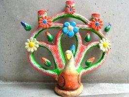 生命の樹 ツリーオブライフ イスカール [カスティージョファミリー 孔雀] ビンテージ