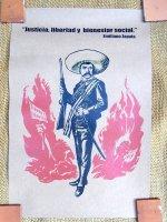 サパティスタ EZLN クラフトポスター [エミリオール・サパタ] インテリア