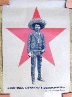 サパティスタ EZLN クラフトポスター [エミリオール・サパタその2] インテリア