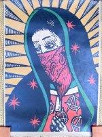 サパティスタ EZLN クラフトポスター [聖母アナーキーマリア] インテリア