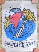 サパティスタ EZLN クラフトポスター [女戦士] インテリア