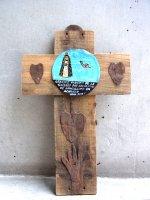ボノラ 十字架 ウッドクロス [聖人 ラ・ソレダー]