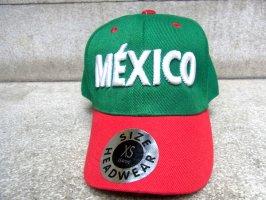 メキシコ ベースボールキャップ [レトロタイプ