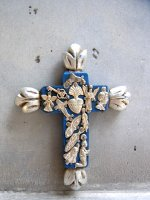 ミラグロ クロス 十字架  [フエゴ スモール ターコイズ]