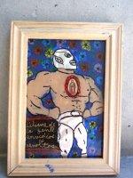 ルチャリブレ グアダルーペ アート [ Sサイズ 腕組みサント] マヌエル・バウメン