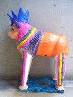 メテペック 陶芸  コロリド 人形 [ティブリシオ・ソテノ ライオン 34cm]