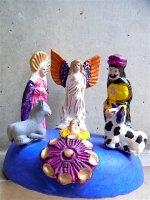 メテペック 陶芸 ナシミエント [アベル・ソテノ キリスト生誕]  クリスマス