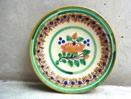 プエブラ 陶器 タラベラ  [丸皿 18cm トリニダー] ビンテージ