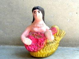 メテペック 陶芸 人形 [シレナ 人形 ] ビンテージ