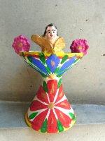 プエブラ 陶芸 香炉 [イグナシオ・ペラルータ 天使杯] ビンテージ