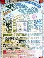 ルチャリブレ 興行ポスター  [ファンタスティカマニア2015] CMLL 新日